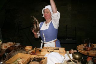 Medieval cookery class